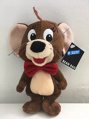 """Tom And Jerry Mouse Plush 7"""" Tall Warner Bros Studio Store"""