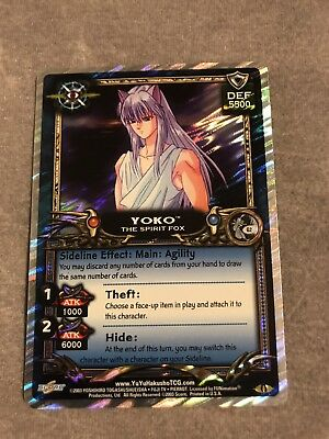 Yu Yu Hakusho TCG Yoko The Spirit Fox 1st Ed Near Mint!