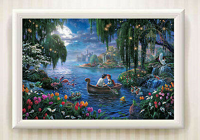 Landscape The Little Mermaid II Oil Painting Print On Canvas Home Decor No Frame