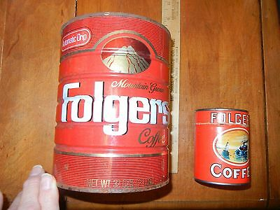 Folgers puzzle and can