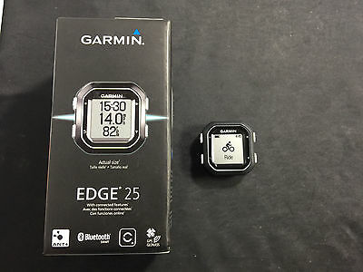 Garmin Edge 25 Compact Bike Cycling Computer GPS A3904