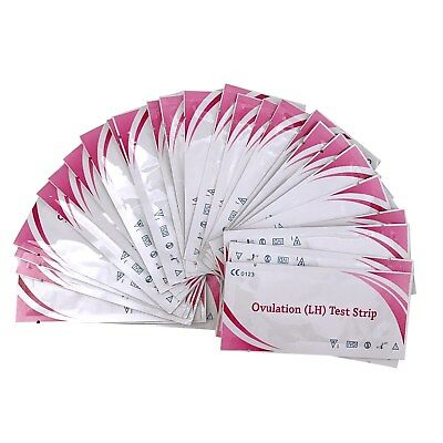 OVULATION Test STRIPS 20mIU Home Fertility Test Kit 10 20 30 50 100PK+FREE GIFTS