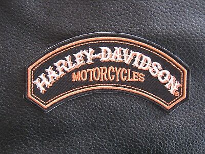 Harley Davidson LTD rocker patch, HOG , MOTORCYCLES.