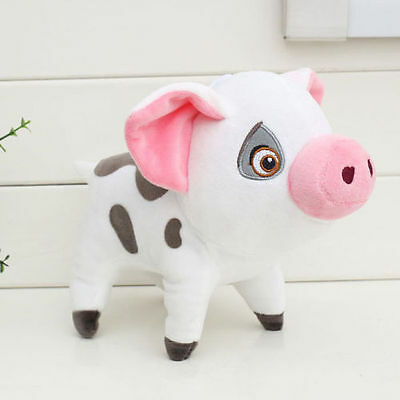 Moana Pet Pig Pua Super Soft Doll Stuffed Animal Plush Toy Kids Gift 9""