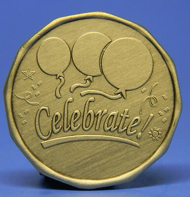 Sobriety Bronze Chip - Medallion - Celebrate!- Recovery
