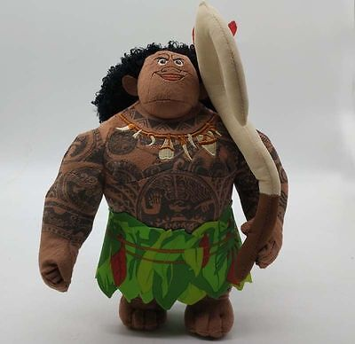 Moana Maui Plush Super Soft Doll Stuffed Animal toy Kids Gift 9""