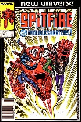 Spitfire and The Troubleshooters #1 (1986) Marvel Comics