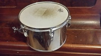 """Ludwig 1970s 5 Ply Maple Stainless Steel 12"""" Concert Tom"""
