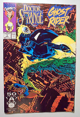 Doctor Strange/Ghost Rider Special #1 Copper Age Marvel Comic Book 1991 VF/NM