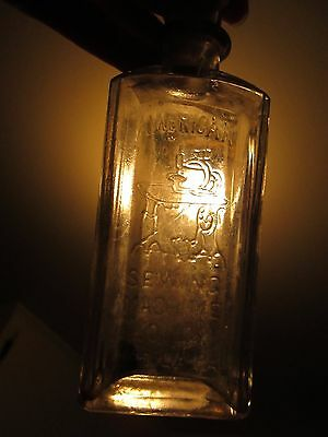 American Sewing Machine Sperm Whale Oil Bottle