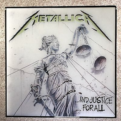 METALLICA ...And Justice For All Coaster Record Cover Ceramic Tile