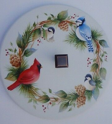 """Judy Diephouse/Lynne Deptula tole pattern """"Woodland Friends in the Round"""""""