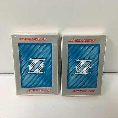 Lot Of 2 Vintage Piedmont Airlines Decks Of Playing Cards In Sealed Box