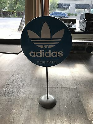 RARE Adidas Originals Metal Standup Store Display - Yeezy Boost
