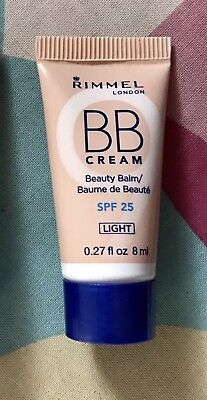 RIMMEL BB CREAM 9 IN 1 SKIN PERFECTOR (Light) 8ml Travel Size with SPF15