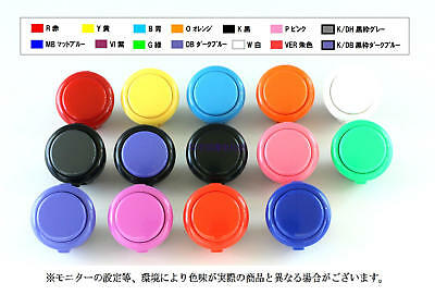 Lot Japan Original Sanwa OBSF-30 Push Buttons For Arcade Gaming Mame Jamma KOF
