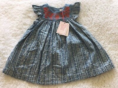 Pumpkin Patch Dress & Nappy Cover Size 3-6months BNWT