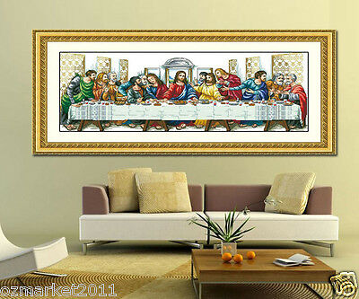 Religious Decoration Length88 * Width34cm Cross-Stitch The Last Supper