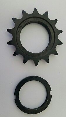 "Suntour Superbe Pro Track Cog HC-100 14 Tooth 1/2""x1/8"" & Lock Ring"