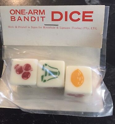 Cereal Toy R&L Dice Game Rare!!!
