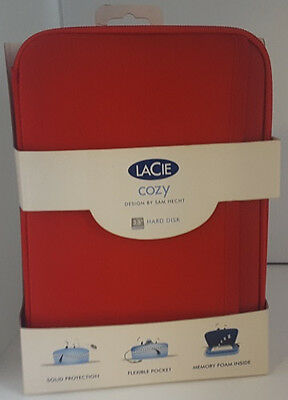 """LaCie Cozy Hard Drive Case for 3.5"""" Drive (Red)"""