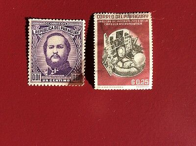 Paraguay Stamps (2)