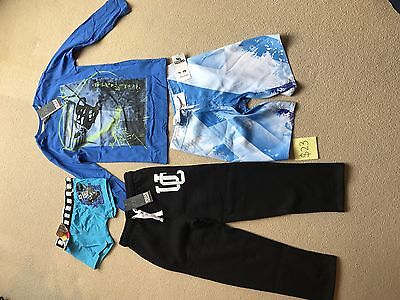 Boys Size 8 Trackpants & LS Top (UrbanCrusade Brand) Shorts & underwear-all BNWT