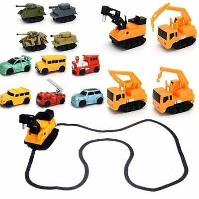 Great Follow Any Drawn Line Magic Pen Inductive Toy Car Truck Model W/ Pen GiJO