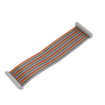 40Pin Female To Female Rainbow Ribbon Cable Cord For Raspberry Pi  ModelA+B+2 3
