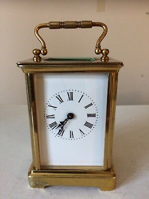 Antique 19th Century French 8 Day Carriage Clock Original Cylinder Escapement