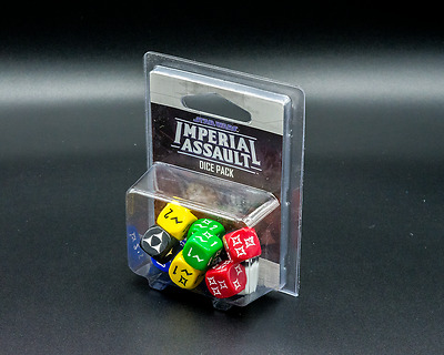 Star Wars Imperial Assault Dice Pack - New - Aus Stock