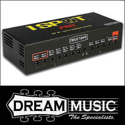 Truetone 1 Spot Pro CS12 Isolated Power Supply Brick for Guitar Pedals RRP$379