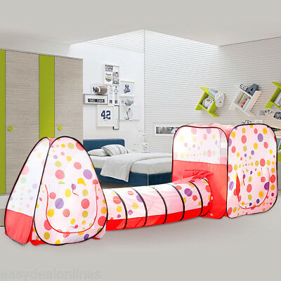 bambini Pop-up Play Tenda Portatile pieghevole Playhouse Interno/externo REGALO
