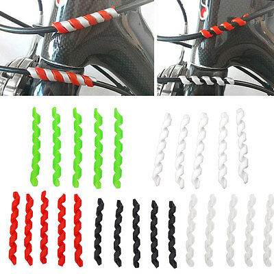 Bicycle Bike Frame Brake Line Chain stay Tube Protection Sleeve Guard Pad Cover