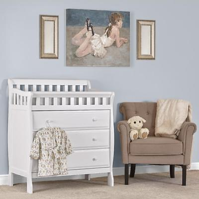Dream On Me Marcus Changing Table and Dresser - White