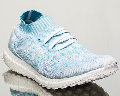 21bfc0edb6e adidas Ultra Boost Uncaged Parley men lifestyle sneakers light blue CP9686
