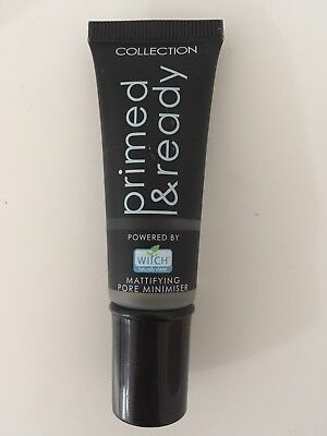 New Collection Primed & Ready Primer With Witch Hazel Mattifying Pore Minimiser