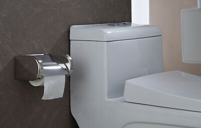 Wall Mounted Stainless Steel Waterproof Toilet Roll Paper Tissue Box Holder