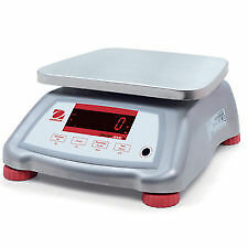 Ohaus Valor 2000 Water Proof Scale, Food Industry, Internal Rechargeable Battery