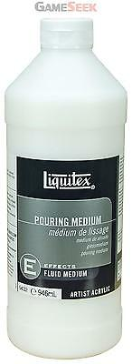 Liquitex Professional Pouring Medium 946ml Artist Paints Quality Acrylic Art