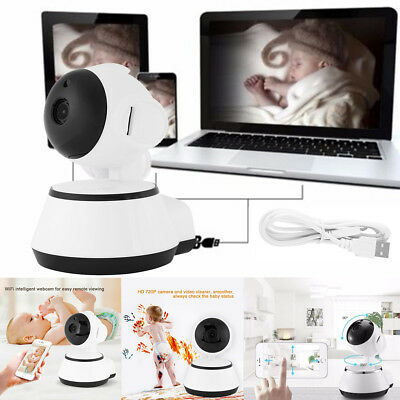720P 10M Baby Pet Monitor Wireless Camera Night Vision Safety Viewer Audio Video
