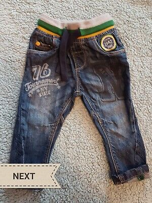 Baby boys jeans 6-9 months - NEXT