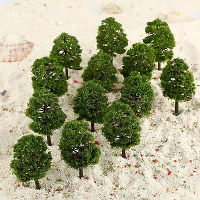 20pcs 9cm Model Trees Train Railroad Layout Diorama Wargame Scenery HO OO Scale