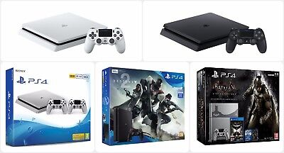Official Sony Playstation Ps4 Slim Console - 500Gb / 1Tb - New & Sealed