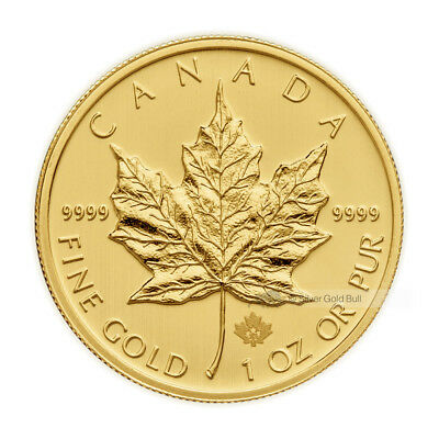 1 oz Random Year Canadian Maple Leaf Gold Coin
