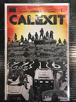 Calexit #1 Cover A NM- 1st Print Black Mask Comics 2017 Pizzolo