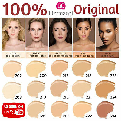 Dermacol Film Studio Make-Up Foundation Concealer High Covering Hypoallergenic