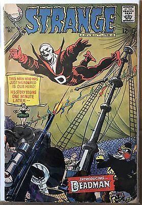 Strange Adventures #205 ⭐️ 1st First Deadman ⭐️  GD/VG ⭐️ DC Comics