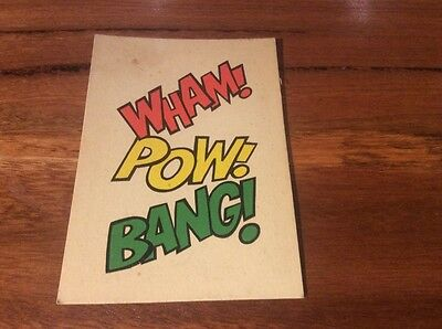 weeties cards Wham pow bang