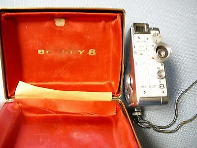 Bolsey 8 Subminiture 8mm Camera, Movie or Still with Case
